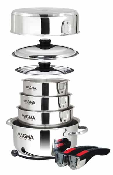 Magma Gourmet Nesting Stainless Steel