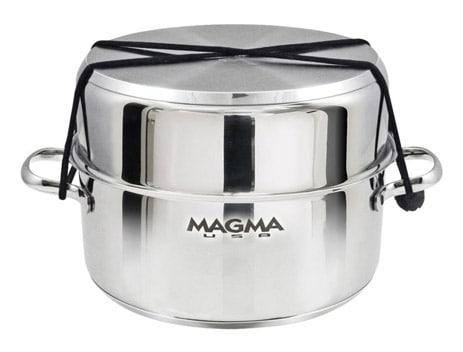 Magma Gourmet Nesting Stainless Steel_Nested