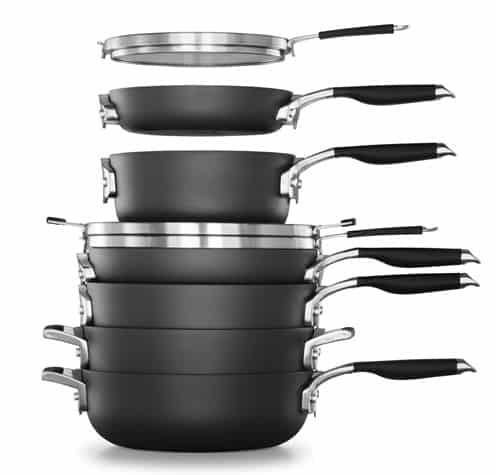 Select by Calphalon Space Saving Non-Stick Cookware