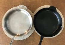 Cast Iron vs. Stainless Steel Cookware
