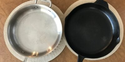 Cast Iron vs. Stainless Steel Cookware: What's the Difference?