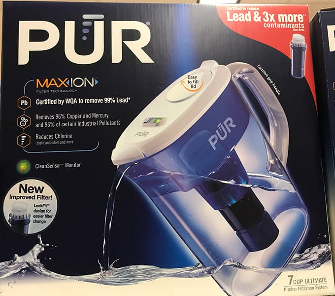 PUR Ultimate Water Filter Pitcher