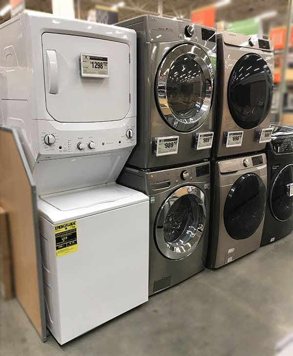 Stackable Washer Dryer Dimensions 15