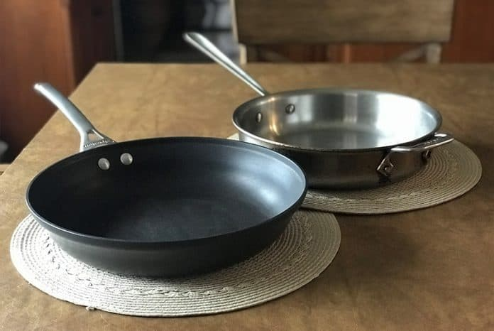 Stainless steel vs non stick cookware comparison