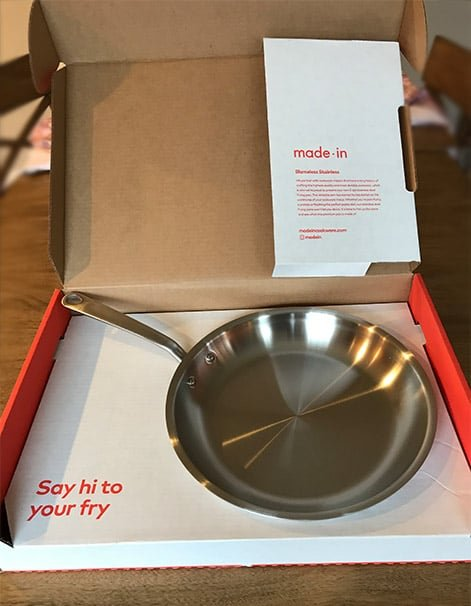 Made In Cookware Packaging