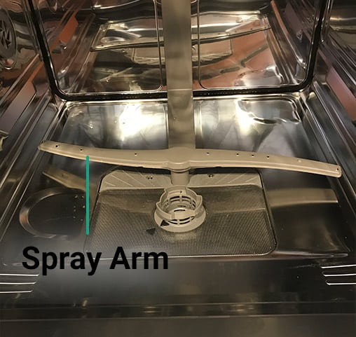 Dishwasher spray arm