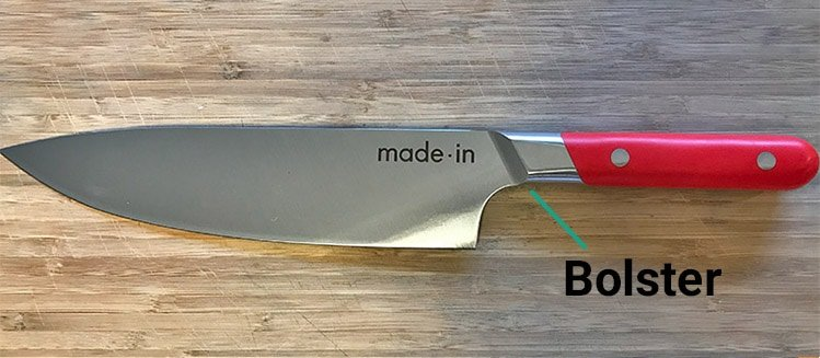 Made In Chef Knife Bolster
