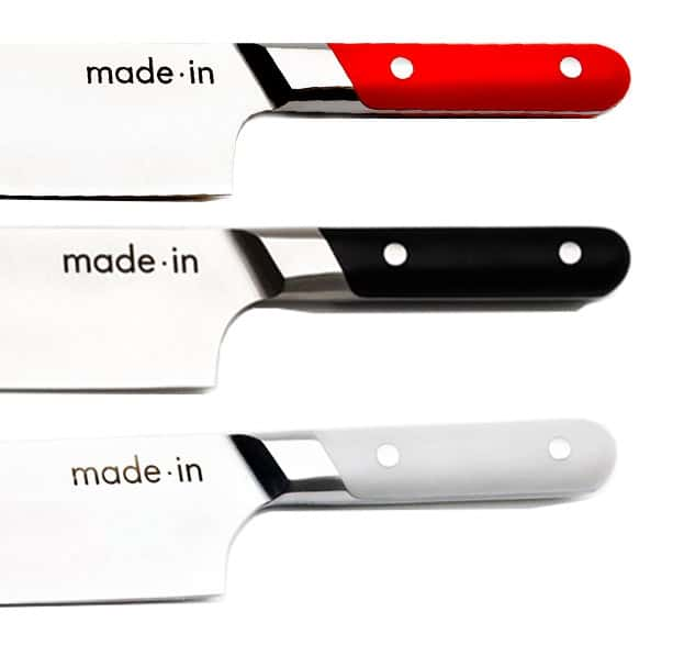 Made In Chef Knife Handle Colors_Red_Black_Gray