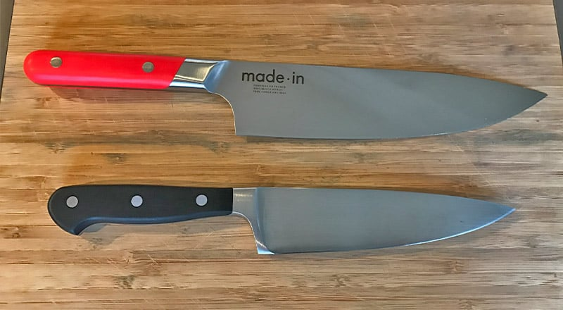 Made In vs. Wusthof Chefs Knife