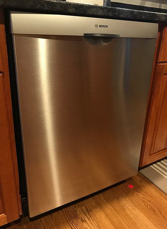 Top Control Built In Dishwasher