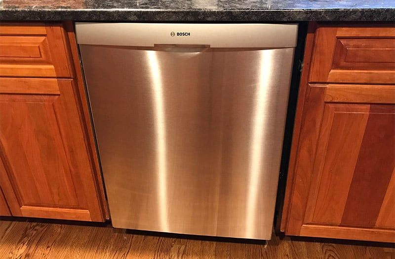 how much does a dishwasher weigh