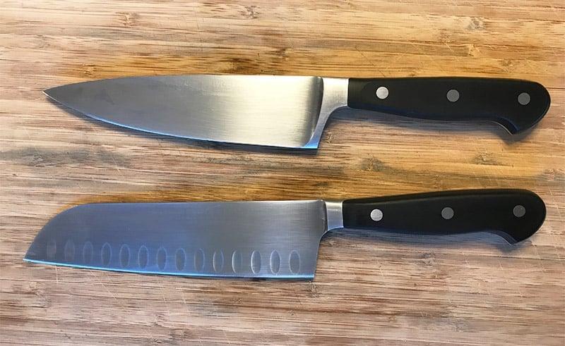 Santoku Knife versus Chefs Knife