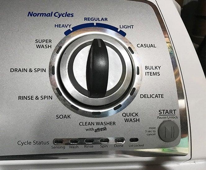 Washing Machine Cycles