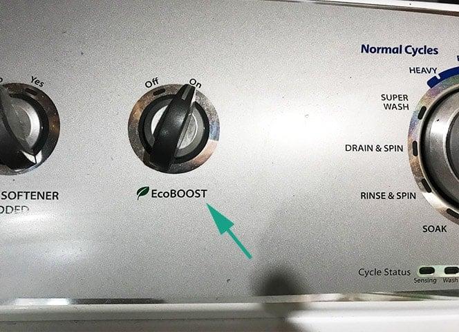 Washing Machine Eco Boost