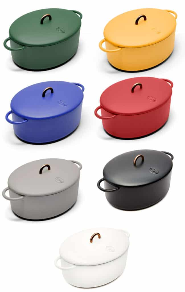 Great Jones Dutch oven colors