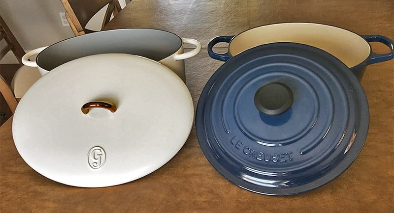 Great Jones and Le Creuset Lids