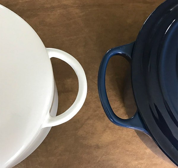 Great Jones and Le Creuset Side Handles