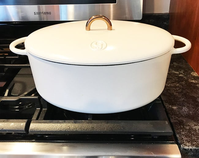 Great Jones oval Dutch oven