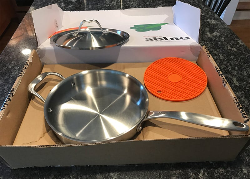 Abbio Cookware Packaging 2