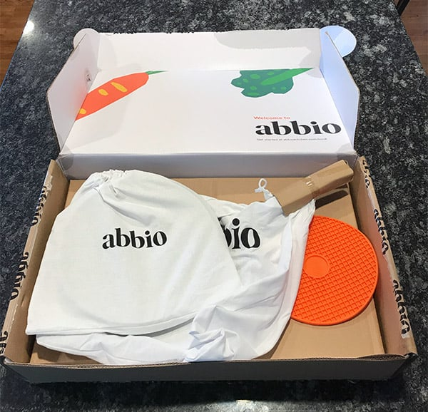Abbio Cookware Packaging