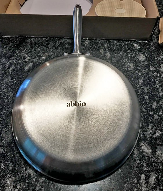 Abbio Stainless Steel Cookware Design_Bottom