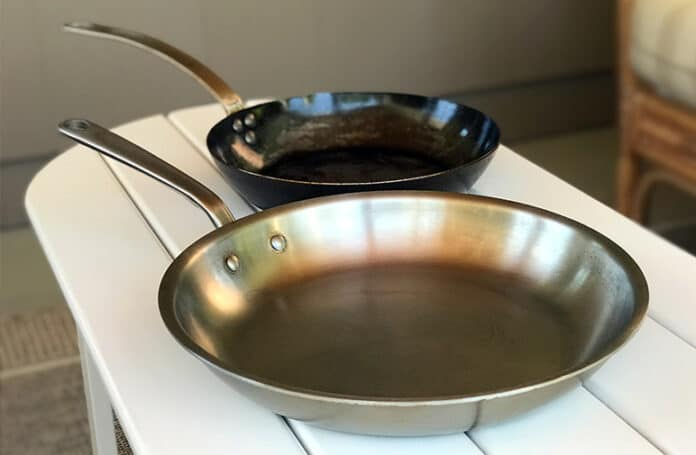 Carbon Steel versus Stainless Steel Pans