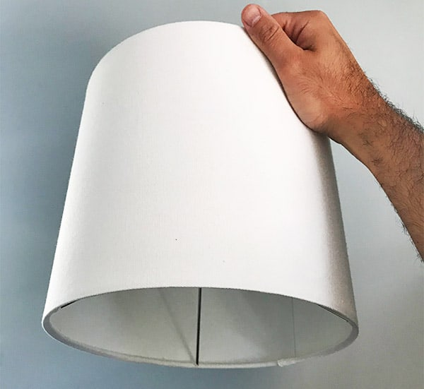 Cleaning lampshades