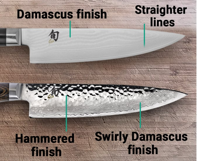 Differences between Shun Classic and Premier_Blade finish