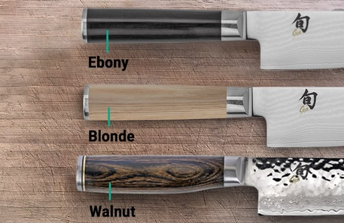 Differences between Shun Classic and Premier_handle color