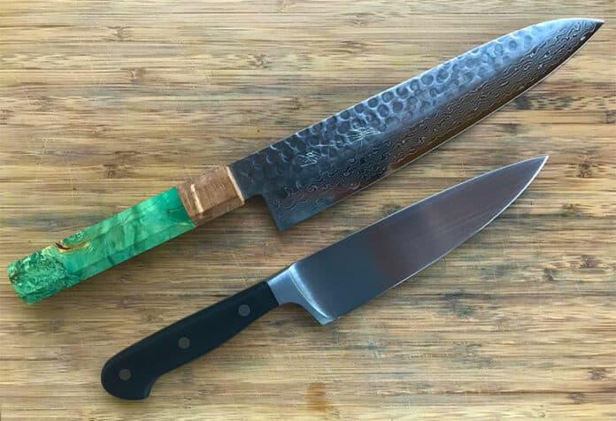Japanese versus German knives