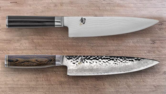 Shun Classic versus Shun Premier Knives