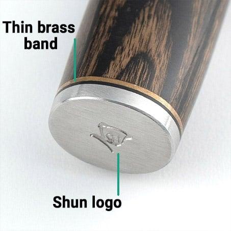 Shun Premier Handle Details