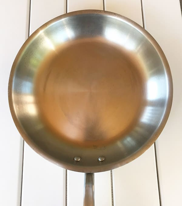 Stainless Steel Pan Appearance