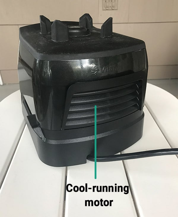 Vitamix cool-running motor