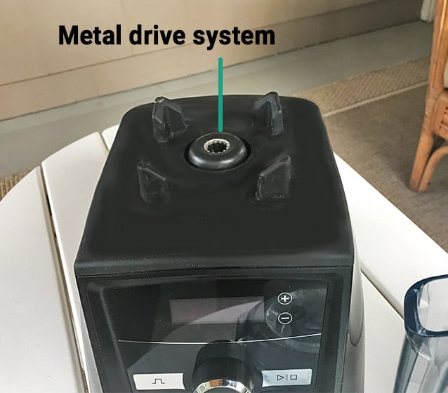 Vitamix metal drive system
