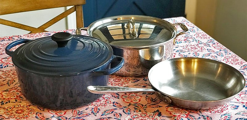 All-Clad versus Le Creuset Stainless Steel Cookware