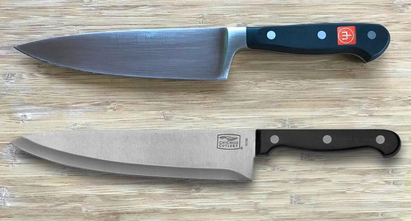 Wusthof versus Chicago Cutlery