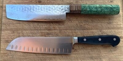 Nakiri vs. Santoku Knives: What's the Difference?