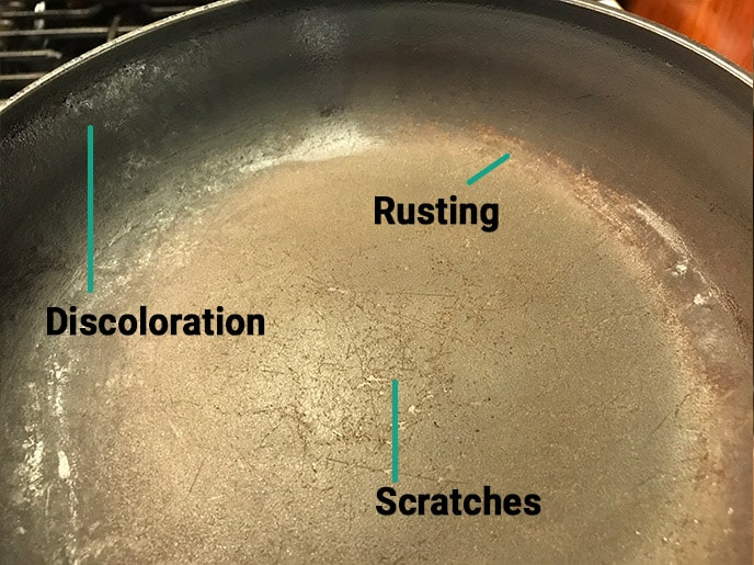 when to replace a non stick pan