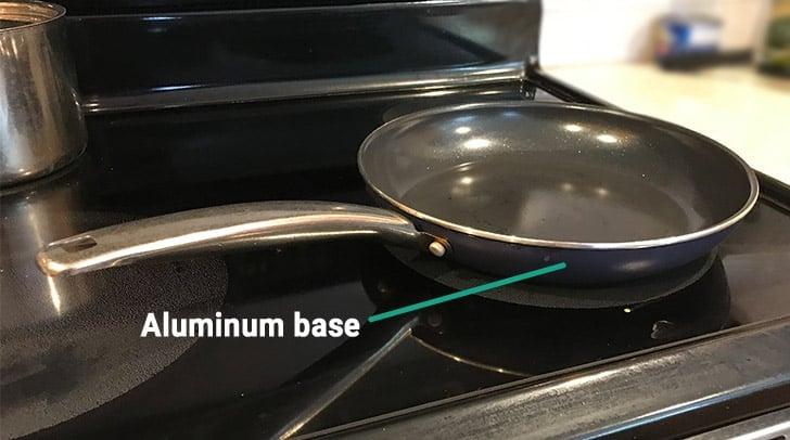 Blue Diamond Pan Aluminum Base