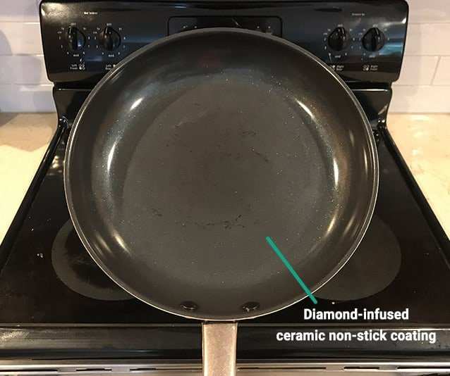 Blue Diamond Pan Diamond Infused Ceramic Non Stick Coating