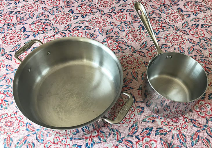 Fully Clad Stainless Steel Cookware