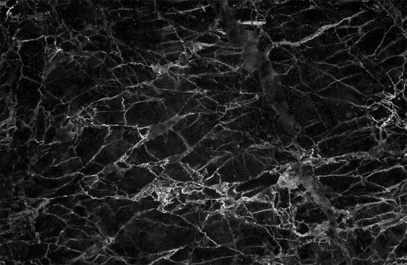 Granite countertop veining