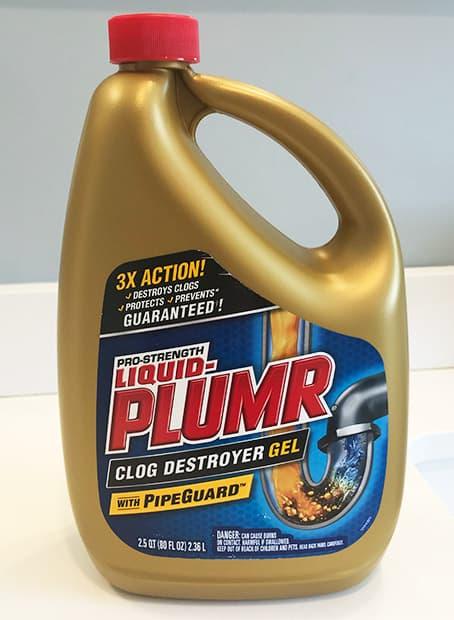 Liquid Plumr Drain Cleaner