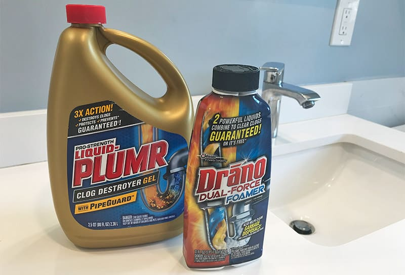 Liquid Plumr versus Drano