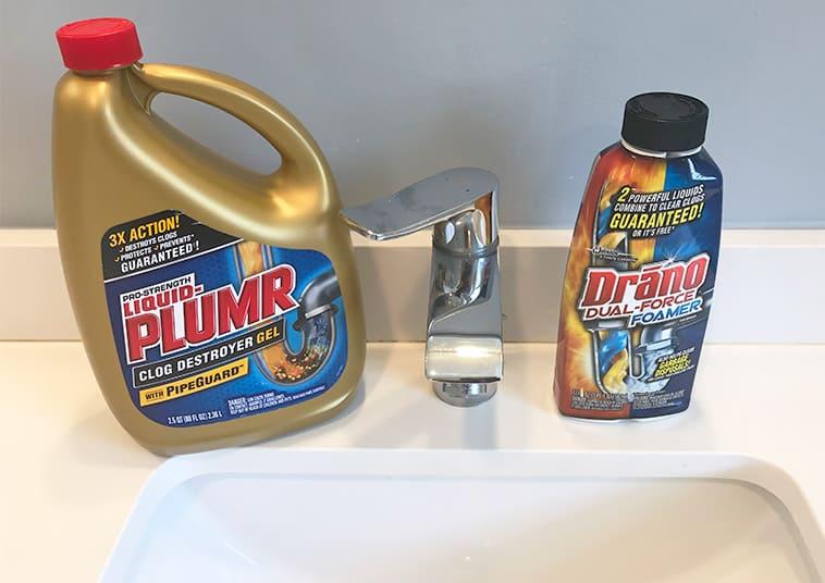Liquid Plumr versus Drano_which works best