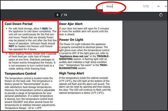 freezer installation guide on HomeDepot.com 2