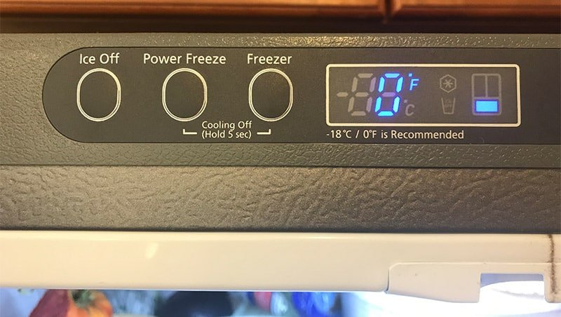how long does it take for a freezer to get cold