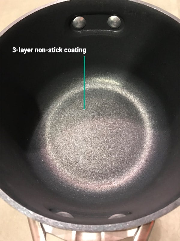 Calphalon Premier Three Layer Non-Stick Coating