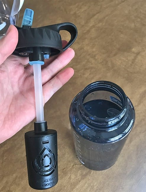 Epic Water Filters Water Bottle Straw and Filter